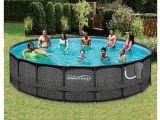 Gorilla Floor Padding for 18ft Round Above Ground Swimming Pools Amazon Com Summer Waves Elite Wicker Print 18 X 48 Above Ground