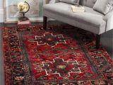Grey and Red area Rugs Safavieh Vintage Hamadan Vintage oriental Red Multi area Rug 5 3