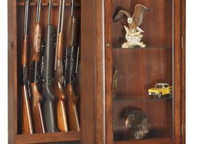 Gun Cabinets for Sale Amazon Inspirational Amazon Com American Furniture Classics 611 10 Gun Curio Slider