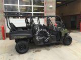 Gun Rack for Polaris Ranger Polaris Ranger 800 Crew Cab Roll Cage Seat Package with Aluminum