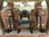 Gun Rack for Truck Back Window Portable Multi Function Camouflage Hunting Bag for Car Rear Seat