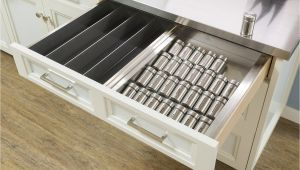 Hafele Spice Rack Drawer Insert organize Your Cabinets Custom Cabinets