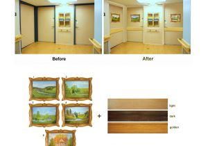 Half Light Door Door Disguise Kit Landscape 1 with Chair Rail Choice Long Term