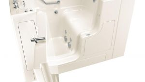 Handicap Shower Chair Home Depot American Standard Gelcoat Value Series 52 In Left Hand Walk In
