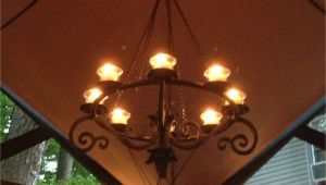 Hanging Lamps Lowes Beautiful Chandelier Under A Gazebo You Can Find It at Lowes