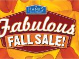 Hanks Furniture Sale Specials