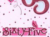 Happy 65th Birthday Decorations 65 today Have A Happy 65th Birthday Card 1stp P 5051856377209 Ebay