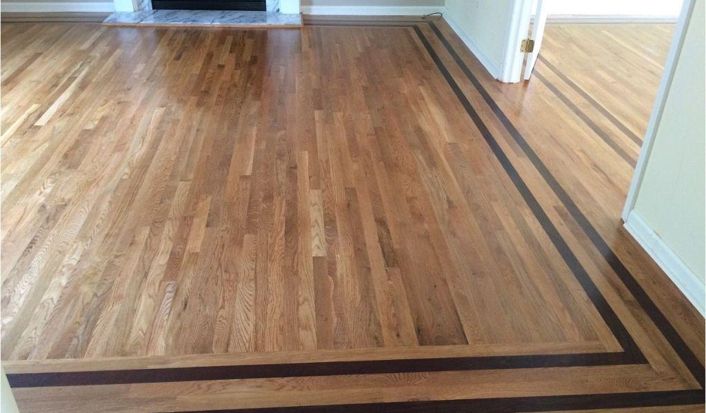 Hardwood Floor Refinishing Contractors Wood Floor Border Inlay
