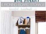 Hat Rack Target Store Diy Iron Holder with Ironing Board Storage Pinterest Ironing