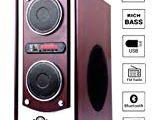 Havit Punta Bull T1 Floor Standing Speakers – Black with Bluetooth Punta Bull T1 Floor Standing Speakers with Bluetooth Usb