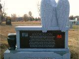 Headstone Bench anderson Angel Bench