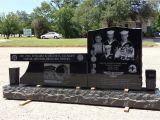 Headstone Bench Premium Black Granite Headstone Bench