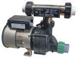 Heated Jetted Bathtub Whirlpool Bathtub Pump 3 4hp & Heat Master Tee Heater