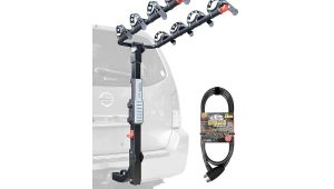 Hitch Mount Bike Rack for 6 Bikes Allen Sports Premier Hitch Mounted 4 Bike Carrier with 6 Onguard