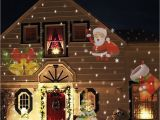 Hologram Christmas Lights Christmas Stars Laser Light Shower 24 Patterns Projector Effect