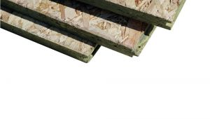 Home Depot attic Flooring System T G oriented Strand Board Common 23 32 In X 4 Ft X 8 Ft Actual