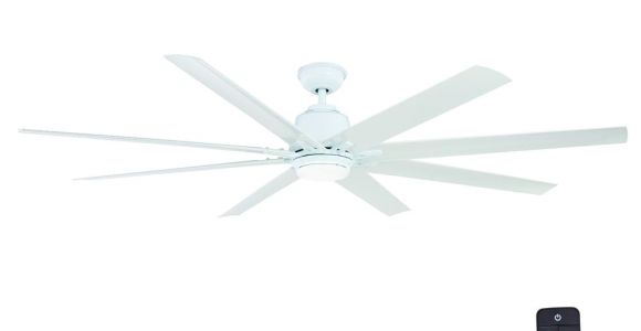 Home Depot Floor Fans Home Decorators Collection Kensgrove 72 In Led Indoor Outdoor White