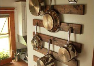 Home Depot Kitchen Pot Rack Diy Wall Mounted Pot Rack Pinterest Pot Rack Rustic Kitchen