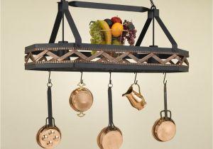 Home Depot Kitchen Pot Rack Ritzy Vintage Kitchen Ideas Kalco Style Lighted Pot Rack Wooden Oak