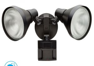 Home Depot Light Bulb Changer Defiant 180 Degree Black Motion Sensing Outdoor Security Light Df