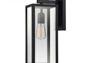 Home Depot Light Bulb Changer Globe Electric Hurley 1 Light Matte Black Outdoor Wall Mount Sconce