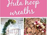 Homemade butterfly Decorations for Party 13 Awesome Diy Hula Hoop Wreaths Pinterest Hula Hoop Hula and