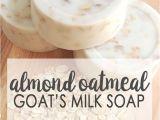Homemade Decorative soap Bars Almond Oatmeal Goat S Milk soap Pinterest soap Base Milk soap