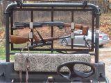 Homemade Gun Rack for Utv Diy Gun Rack for the Kubota Rtv 900 Youtube