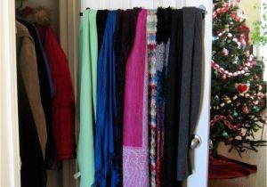 Homemade Tie Rack 25 Brilliant Lifehacks for Your Tiny Closet organizing