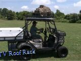 Homemade Utv Roof Rack Great Day Utv Roof Rack Tuckerrocky Youtube