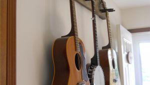 Homemade Wooden Guitar Rack Diy Guitar Hanger Simple Secure We Practice so Much More since