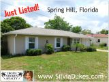 Homes for Sale In Spring Hill Fl Three Bedroom Home for Sale Spring Hill Florida 34609 Homes for