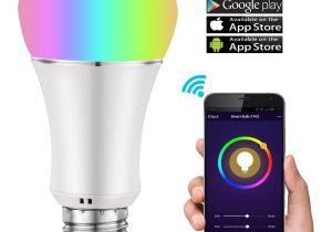 Hot Light App Wifi Smart Light Bulb Multicolor Dimmable Led Lampwake Up Lights