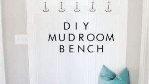 How to Build A Mudroom Bench with Cubbies Diy Mudroom Bench Diy Ideas Pinterest Mudroom House and Home