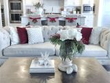 How to Decorate A sofa Table for Christmas Pin by Chrystal Rose Dasari On A Room Of My Own Pinterest