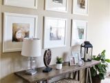 How to Decorate A sofa Table for Christmas Styling with Monochrome Frames Pinterest sofa Table Decor Ikea
