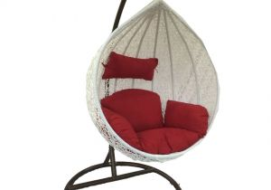 How To Make A Teardrop Swing Chair Woodys Modak White Hanging Chair Buy  Woodys Modak White