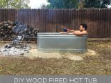How to Make A Wooden Bathtub Homemade Modern Ep112 Diy Wood Fired Hot Tub