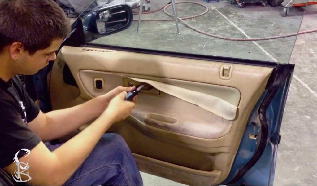 How To Reupholster Car Interior Door Panels Diy How To Remove Door