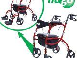 Hugo Navigator Combo Rollator Transport Chair Amazon Com Hugo Navigator Combo Rollator Walker Transport