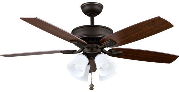 Hunter Oil Rubbed Bronze Floor Fan Hampton Bay Devron 52 In Led Indoor Oil Rubbed Bronze Ceiling Fan