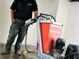 Husqvarna Floor Grinder Pg 400 Exposing Aggregate On A Polished Concrete Floor