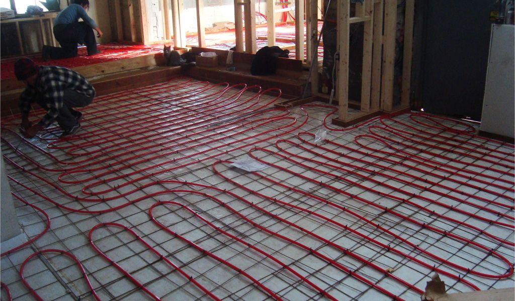Hydronic Radiant Heat Under Wood Floors Electric Radiant Floor