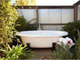 Ideas for Outdoor Bathtub Outdoor Bathroom Close to Nature