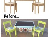 Ikea Childrens Wooden High Chair Ikea Hack for the Children S Latt Table and Chairs My First Ikea