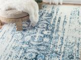 Ikea Flokati Rug Australia Need This Nuloom Blue Distressed Ernestina Flourish Rug Home