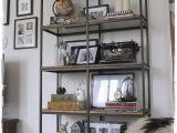 Ikea Hack Bakers Rack Vittsjo Ikea Hack Into Rustic Industrial Shelving Decorating
