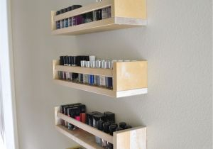 Ikea Hack Nail Polish Rack Ikea Nail Polish Rack Hack for Under 20 so Polished Nailinspo