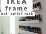 Ikea Hack Nail Polish Rack Nail Polish Storage Idea What A Great Idea All You Have to Do