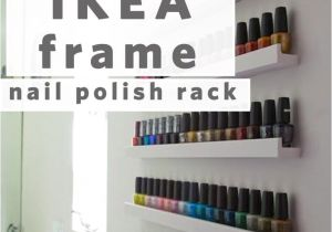 Ikea Hack Nail Polish Rack Nail Polish Storage Idea What A Great Idea All You Have to Do